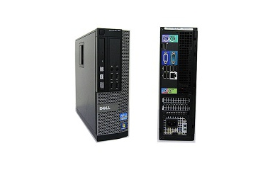 PC  Dell Optiplex 790 SFF I5 3.1GHZ 4GB DDR3 DVDRW HD SSD win7 pro